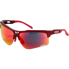 Rudy Project Keyblade Brille merlot matte/multilaser red